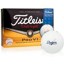 Titleist Los Angeles Dodgers Prior Generation Pro V1 MLB Golf Balls