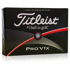 Titleist Pro V1x High Number Personalized Golf Balls