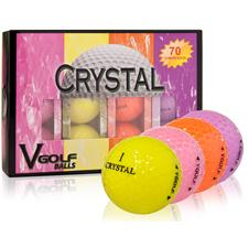 V Golf Crystal Golf Balls