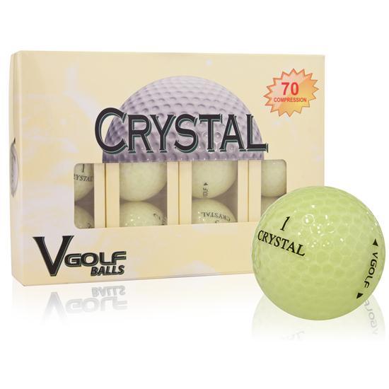 V Golf Crystal Golf Balls
