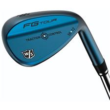 Wilson Staff FG Tour Traction Control Gun Metal Blue Wedge