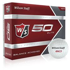 Wilson Staff Fifty Elite Golf Balls - 2015 Model