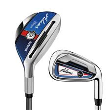 Adams Golf Blue Combo Graphite Iron Set