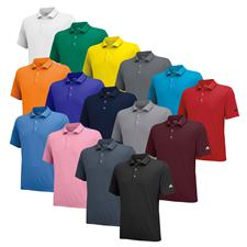 Adidas Men's Puremotion Solid Jersey Polo