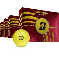 Bridgestone B330-RX Yellow Golf Balls - Buy 3DZ Get 1DZ Free
