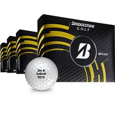 Bridgestone Tour B330 Golf Balls - Buy 3DZ Get 1DZ Free