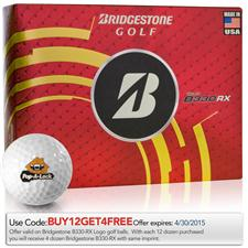 Bridgestone Custom Logo Tour B330-RX Golf Balls