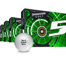 Bridgestone e5 Golf Balls - Buy 3 DZ Get 1 DZ Free
