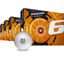Bridgestone e6 Personalized Golf Balls - Buy 3 DZ Get 1 DZ Free