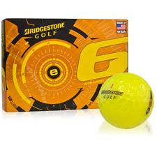 Bridgestone Custom Logo e6 Yellow Golf Balls