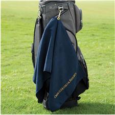 Logo Golf Custom Logo Microfiber Waffle Caddy Size Towel