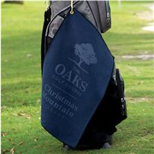 Logo Golf Custom Logo Microfiber Waffle Standard Golf Towel