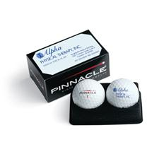 Pinnacle Custom Logo Standard 2-Ball Business Box
