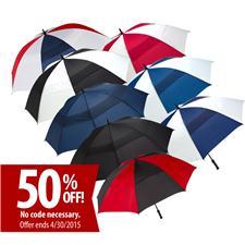 ShedRain Custom Logo Windjammer Vented Golf Umbrella