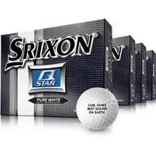 Srixon Q-Star Personalized Golf Balls - Buy 3 DZ Get 1 DZ Free