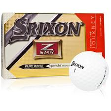 Srixon Z Star 4 Golf Balls with Bonus Sleeve - 15 Pack