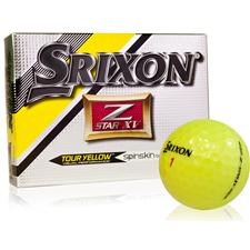 Srixon Z Star XV 4 Tour Yellow Golf Balls - 2015 Model