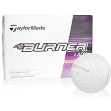 Taylor Made Custom Logo Burner Golf Balls for Women
