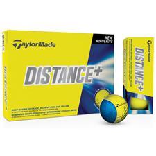Taylor Made Distance+ Yellow Golf Balls - 2015 Model