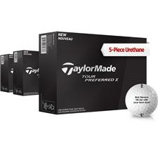 Taylor Made Tour Preferred X Personalized Golf Balls - Buy 2 DZ Get 1 DZ