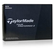 Taylor Made Tour Preferred X Logo Golf Balls