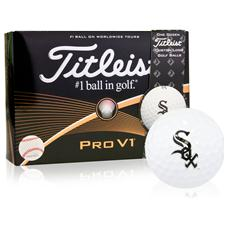 Titleist Chicago White Sox Pro V1 MLB Golf Balls