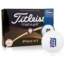 Titleist Detroit Tigers Pro V1 MLB Golf Balls