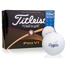 Titleist Los Angeles Dodgers Pro V1 MLB Golf Balls