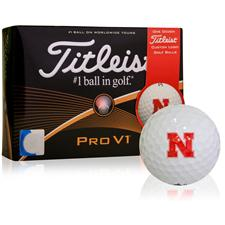 Titleist Nebraska Cornhuskers Pro V1 Collegiate Golf Balls - 2015 Model
