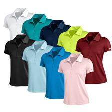Under Armour Custom Logo UA Premier Short Sleeve Polo for Women