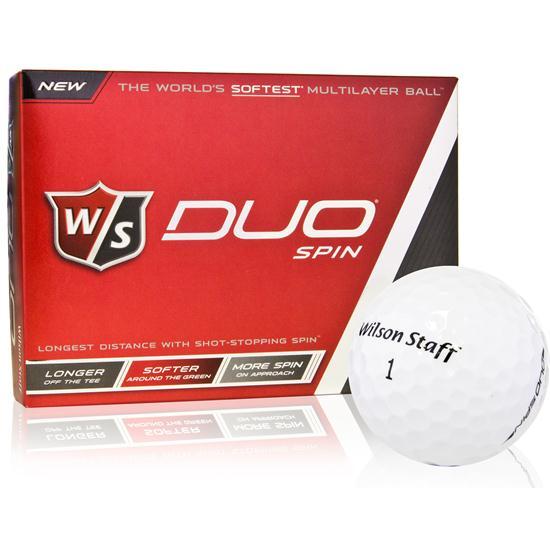 Wilson Staff Duo Spin ID-Align Golf Balls