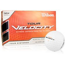Wilson Tour Velocity Distance Golf Balls - 15 Pack