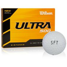Wilson Ultra 500 Distance SFT Logo Golf Ball