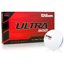 Wilson Ultra 500 Straight Golf Balls - 15 Pack