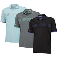 Adidas Men's ClimaChill 3-Stripes Deboss Polo
