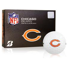 Bridgestone Chicago Bears e6 NFL Golf Balls