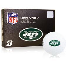 Bridgestone New York Jets e6 NFL Golf Balls