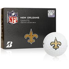 Bridgestone New Orleans Saints e6 NFL Golf Balls