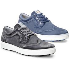 Ecco Golf Men's Casual Hybrid II Wingtip Golf Shoes