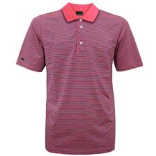 Greg Norman Men's Swedish Stripe Polo