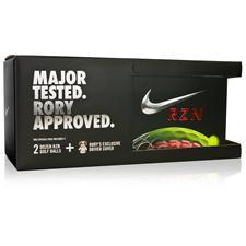 Nike 2 Dozen RZN Black Volt Golf Balls & Rory Headcover