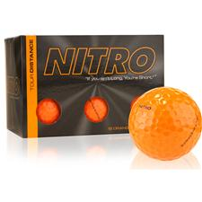 Nitro Tour Distance Orange Golf Balls