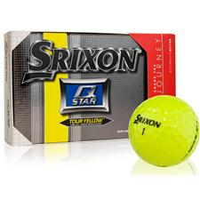Srixon Q Star Tour Yellow Golf Balls with Bonus Sleeve