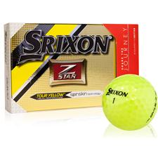 Srixon Z Star 4 Tour Yellow Golf Balls with Bonus Sleeve