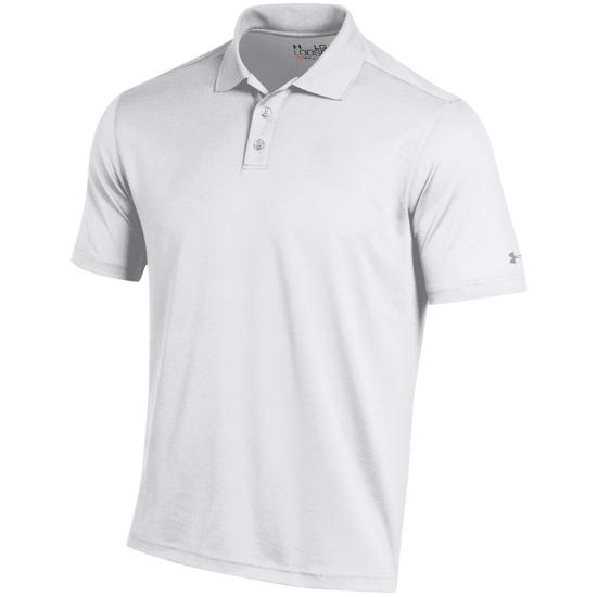 under armour men 39 s performance custom logo polo white