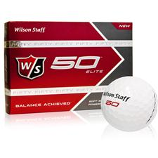 Wilson Staff Fifty Elite Custom Logo Golf Balls