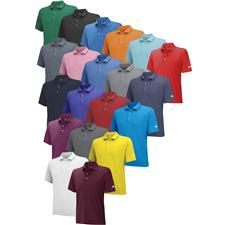 Adidas Custom Logo ClimaLite Solid Jersey Polo