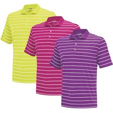 Adidas Men's PureMotion 2-Color Stripe Fashion Jersey Polo