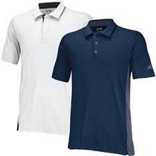 Adidas Men's Puremotion Colorblock 3-Stripes Polo
