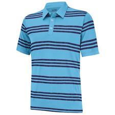 Adidas Men's Puremotion Heather 3-Stripes Polo